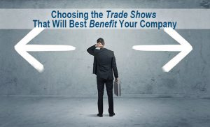 trade shows benefit events business man makes decision choice