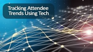 tracking attendee trends using tech jacoby expo