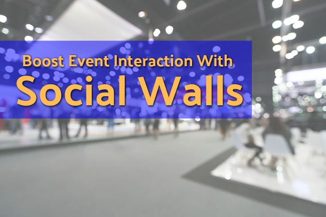 Boost Event Interaction With Social Walls