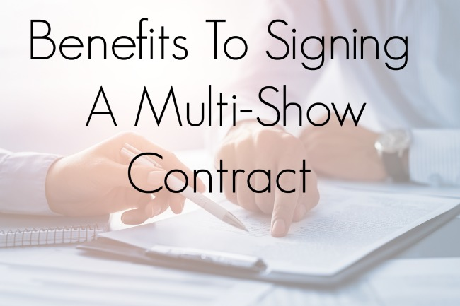 Benefits To Signing A Multi-Show Contract Jacoby Expo