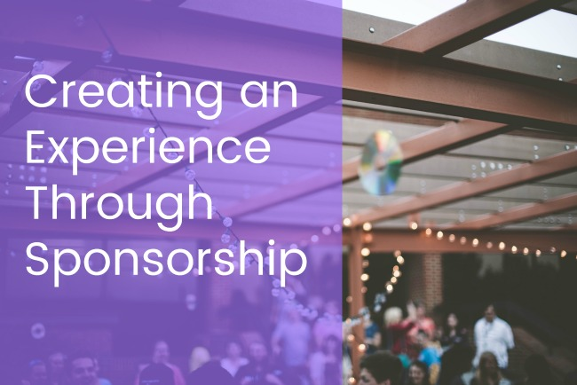 Creating an experience through sponsorship Jacoby Expo