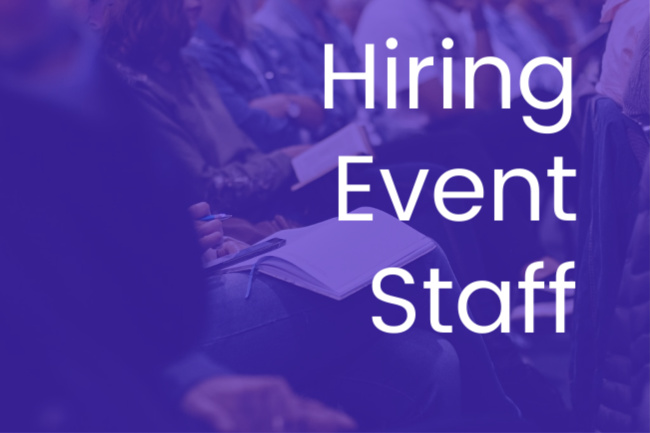 Hiring Event Staff